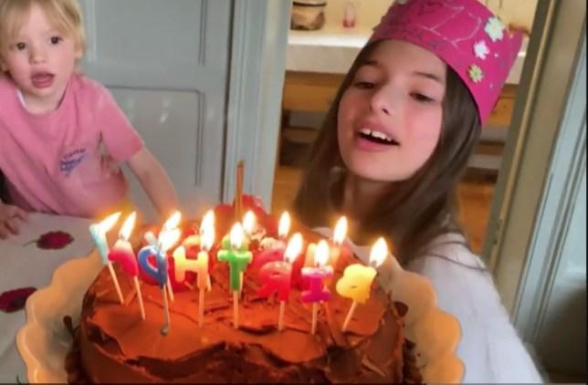 Outstanding Jamie Olivers Gluten Free Birthday Cake Recipe As Daughter Turns Personalised Birthday Cards Petedlily Jamesorg