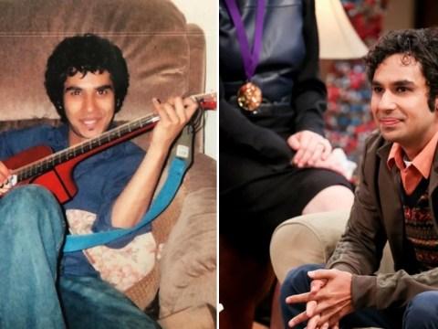 The Big Bang Theory's Kunal Nayyar shares epic throwback proving he's way cooler than Raj
