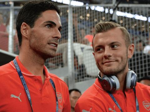 Jack Wilshere identifies the major change Mikel Arteta has made at Arsenal