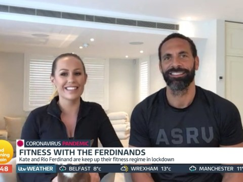 Rio Ferdinand brands wife Kate 'headmistress' as they struggle adjusting to life homeschooling their children
