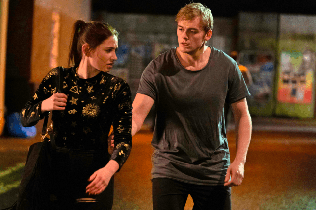 Peter and Dotty in EastEnders