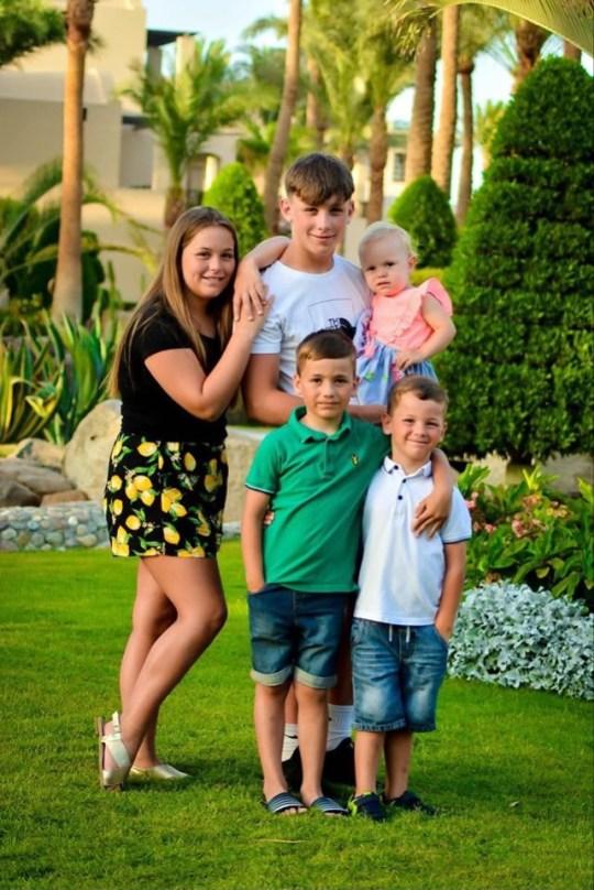 The five children