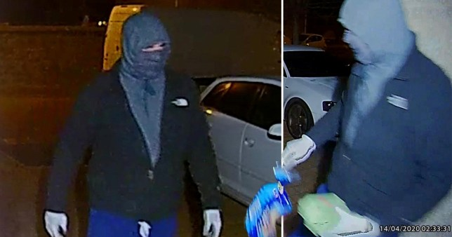 Police hunting for thief who stole food delivery from elderly man's front door