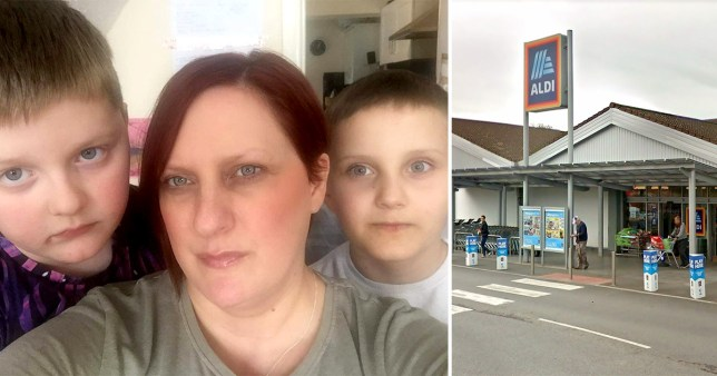 Aldi security guard stopped mum from shopping with twins