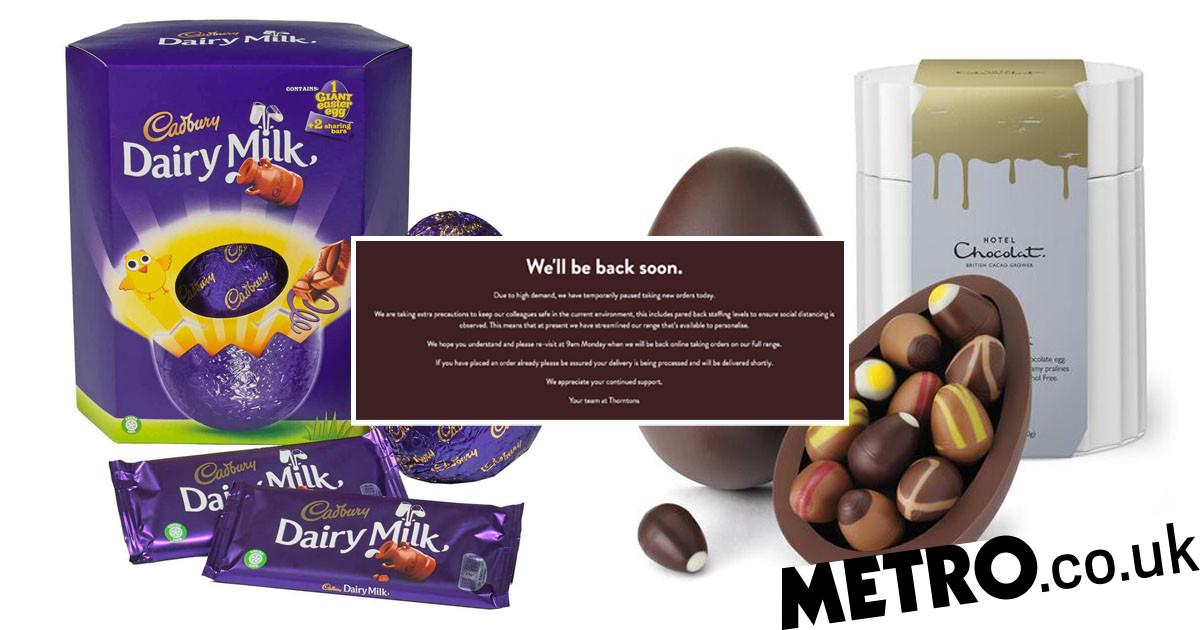 Coronavirus UK: What shops are offering online Easter Egg delivery