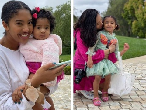 Kobe Bryant's widow Vanessa Bryant shares beautiful photos of daughters on first Easter without husband and daughter GiGi