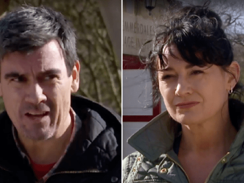 Emmerdale spoilers: Cain and Moira Dingle get back together in shock twist as she saves him from evil DI Malone?