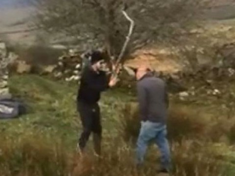 Covidiot goes to attack man who confronted him for going camping over Easter