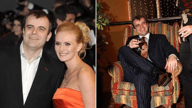 Simon Gregson and wife Emma