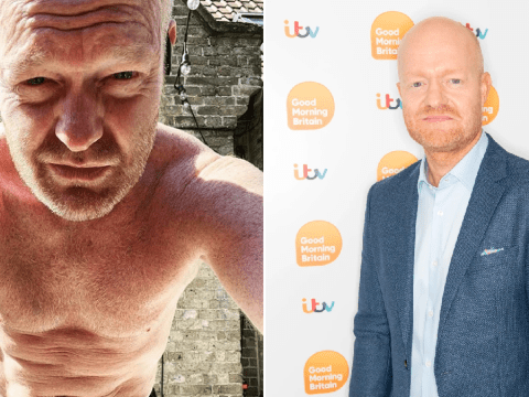 EastEnders' Jake Wood leaves fans hot under the collar with shirtless snap