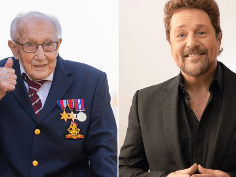 Captain Tom Moore releases charity single with Michael Ball as NHS donations top £18million