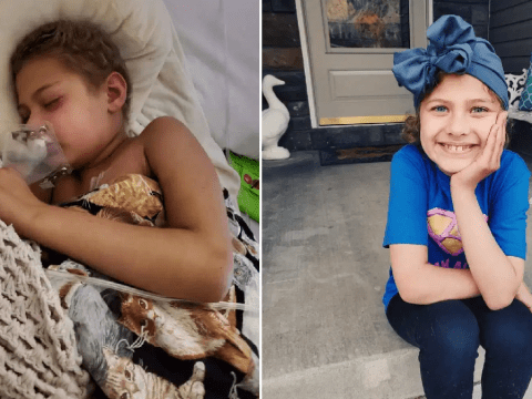 Girl, 9, beats cancer for the fifth time in just five years