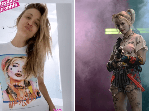 The Big Bang Theory's Kaley Cuoco pays tribute to live-action Harley Quinn sister Margot Robbie in adorable post