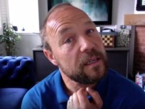 Stephen Graham swears on live TV as he gets a shock from Phillip Schofield's Santa joke