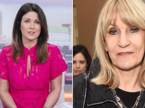 Good Morning Britain's Susanna Reid pays tribute to 'remarkable' journalist Lynn Faulds Wood