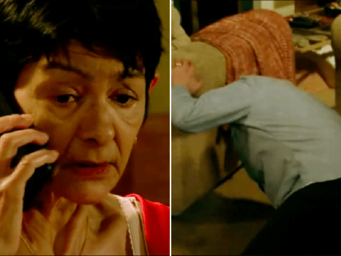 Coronation Street spoilers: New trailer reveals the horrifying moment Yasmeen Nazir 'kills' Geoff Metcalfe