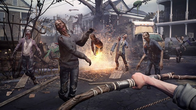 The Walking Dead: Saints & Sinners screenshot