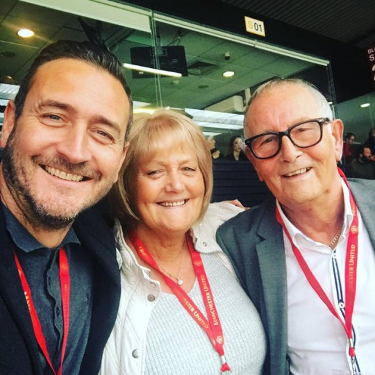 Will Mellor and parents