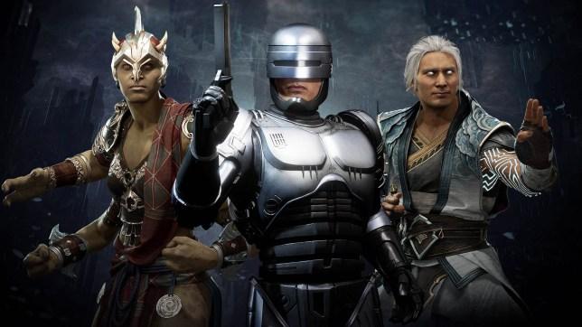 Mortal Kombat 11: Aftermath RoboCop