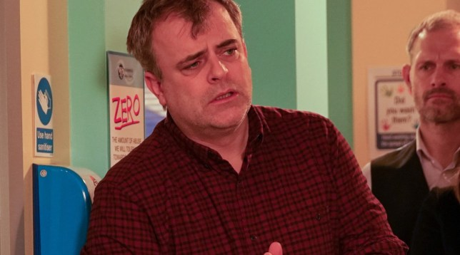 Steve McDonald in Coronation Street, played by Simon Gregson