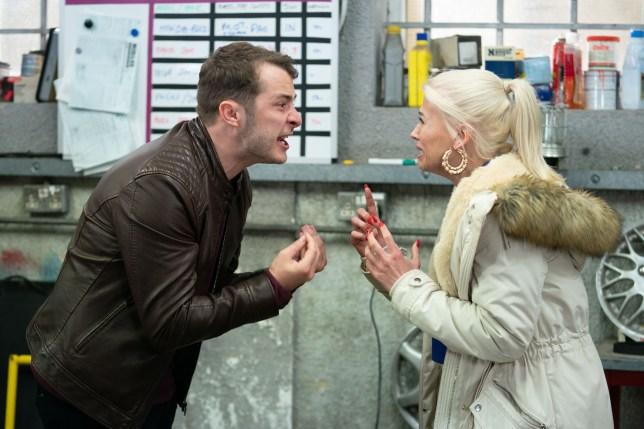 Ben and Lola in EastEnders
