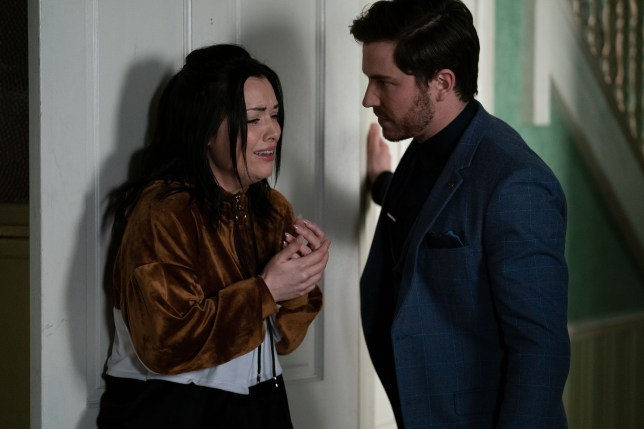 Whitney and Gray in EastEnders