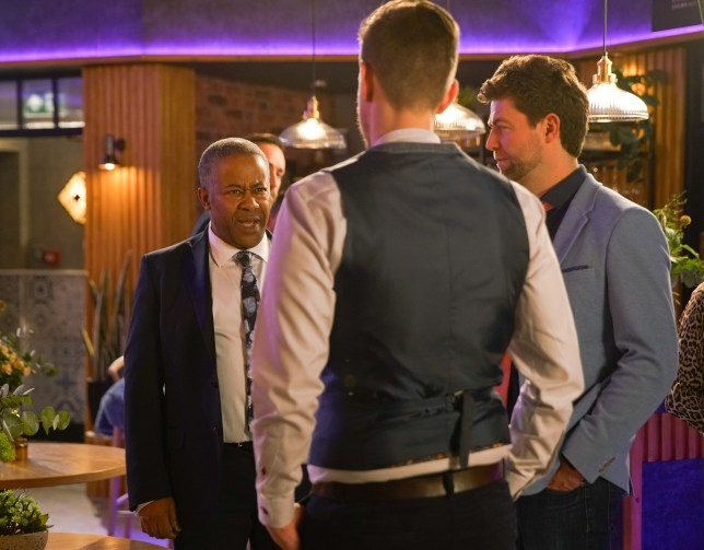 ed and Don in Coronation Street