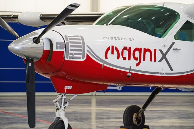 MagniX modified the Cessna to run on an electric engine (magniX)