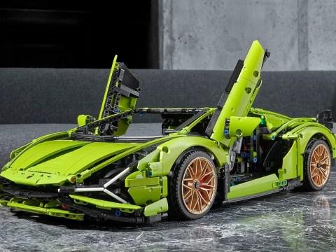 Lego Technic Lamborghini Sián is super cool and super expensive