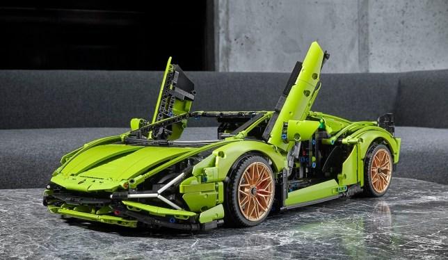 Lego Technic Lamborghini Sián
