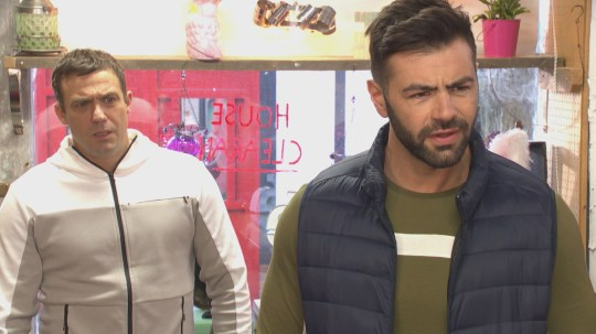 Sylver and Warren in Hollyoaks
