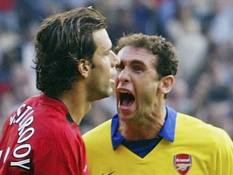 Martin Keown says Ruud van Nistelrooy was 'petrified' after the Arsenal defender apologised to the Manchester United striker