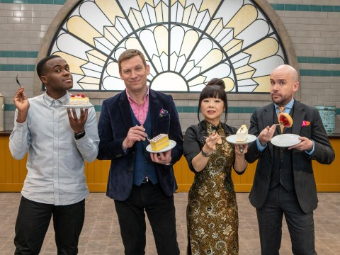 Who are the judges and contestants on Bake Off: The Professionals?