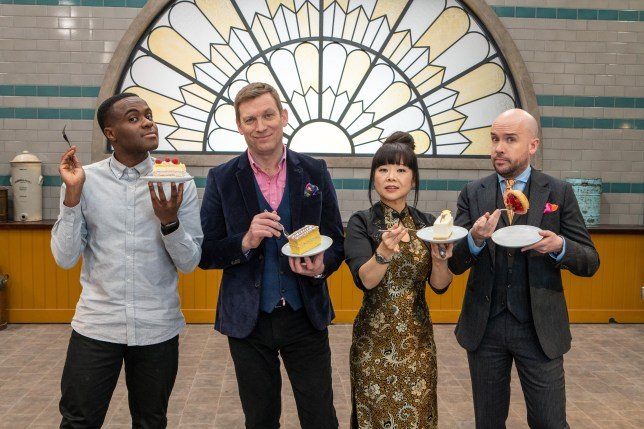 Bake Off: The Professionals judges