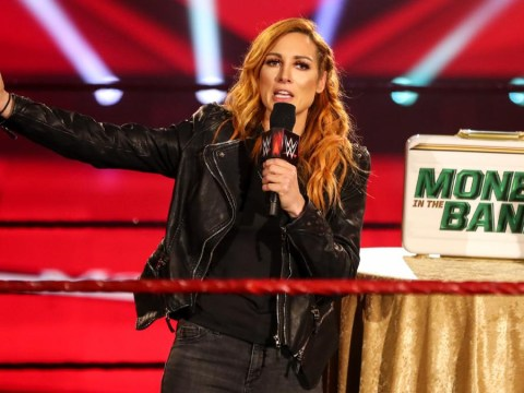 WWE's Becky Lynch reveals baby bump in first pregnancy photo