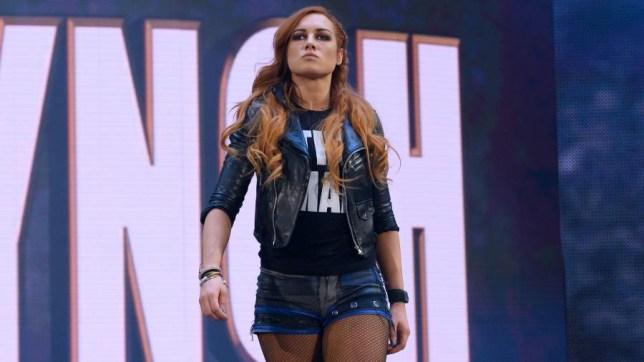 WWE superstar Becky Lynch