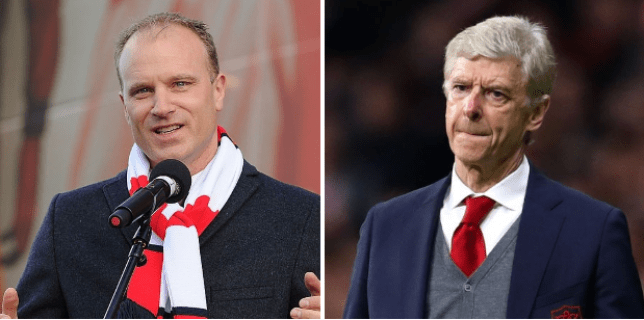 Arsenal's decline coincided with Dennis Bergkamp's departure from the club after the 2006 Champions League final