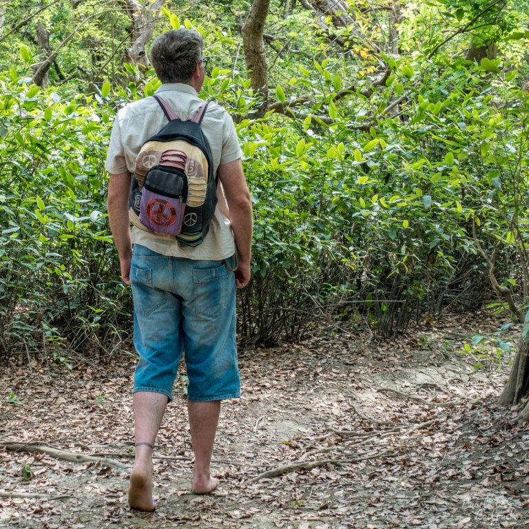 Ian in Ratargul Swamp Forest in Bangladesh