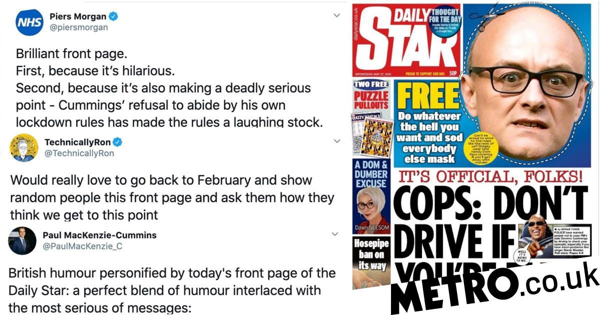 Daily Star praised for being brilliantly funny and deadly serious at same time
