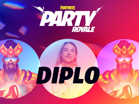 Fortnite held a Diplo concert and no one knew about it