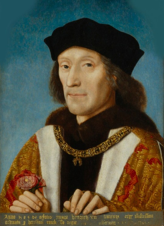 Henry VII as most people know him (Wikimedia)
