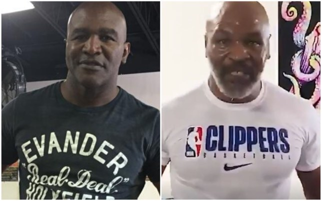 Evander Holyfield says he will not ask Mike Tyson for a trilogy fight