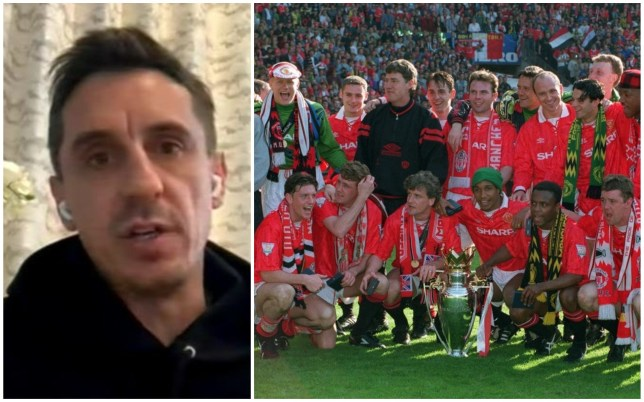 Gary Neville admits he received tough love when making his Manchester United breakthrough