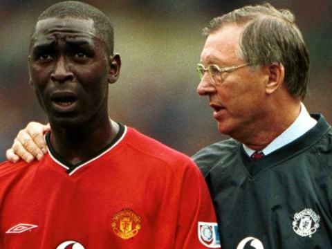 What Sir Alex Ferguson told Andy Cole before he came on to win Manchester United the title in 1999