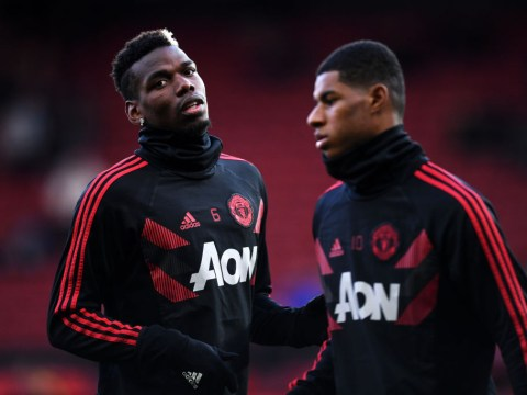 Ole Gunnar Solskjaer says Paul Pogba and Marcus Rashford are 'looking good' after returning to Manchester United training
