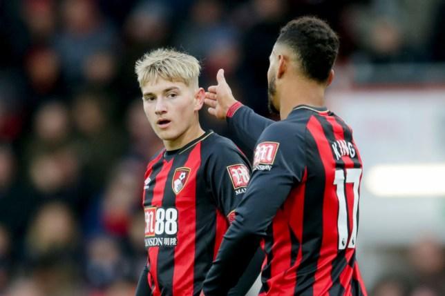 AFC Bournemouth's David Brooks and Josh King