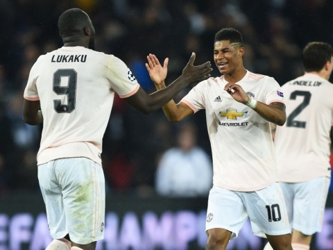 Marcus Rashford tells Andy Murray how selfless Romelu Lukaku let him grab Champions League glory