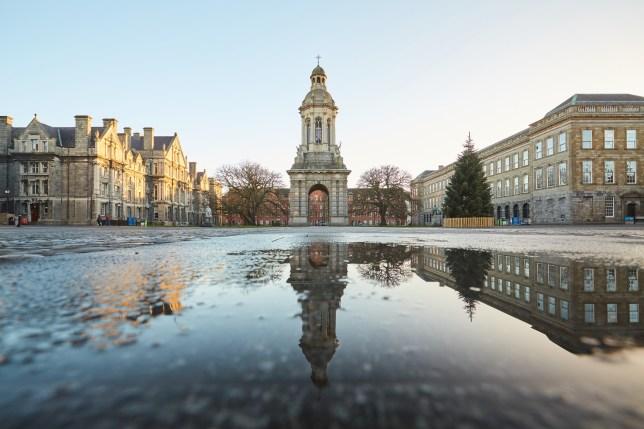 The CampanileofTrinity College,Dublin.