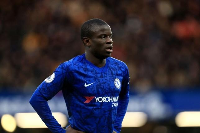 Real Madrid are targeting Chelsea midfielder N'Golo Kante