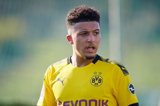 Jadon Sancho has been linked with a transfer to the likes of Chelsea and Man Utd